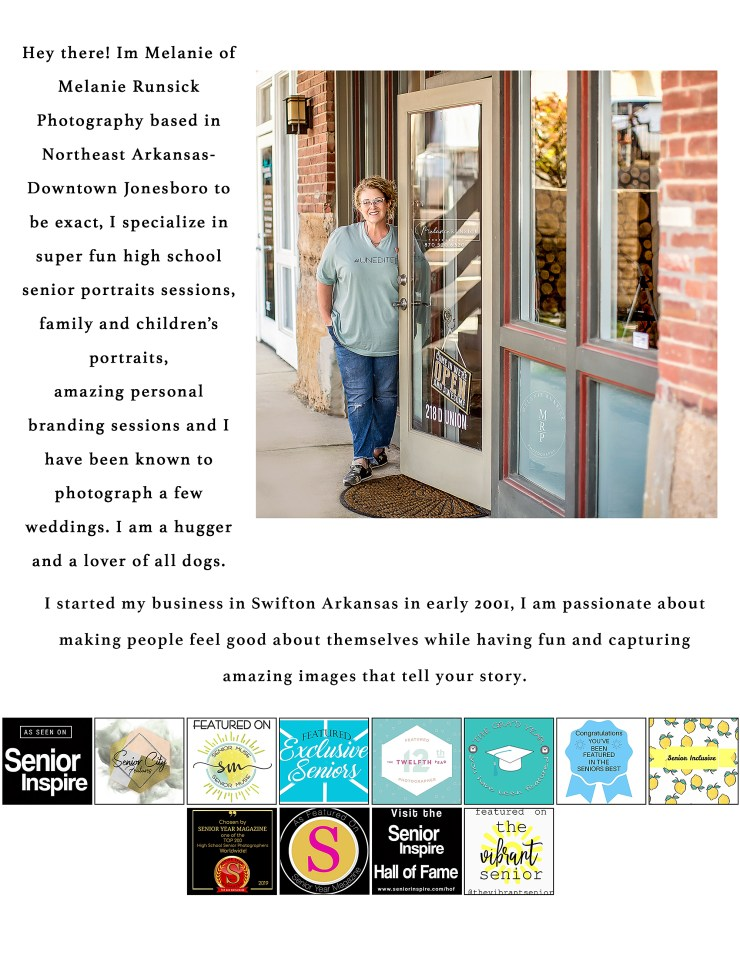 About Melanie Runsick Photography Jonesboro Arkansas Northeast Arkansas Photographer