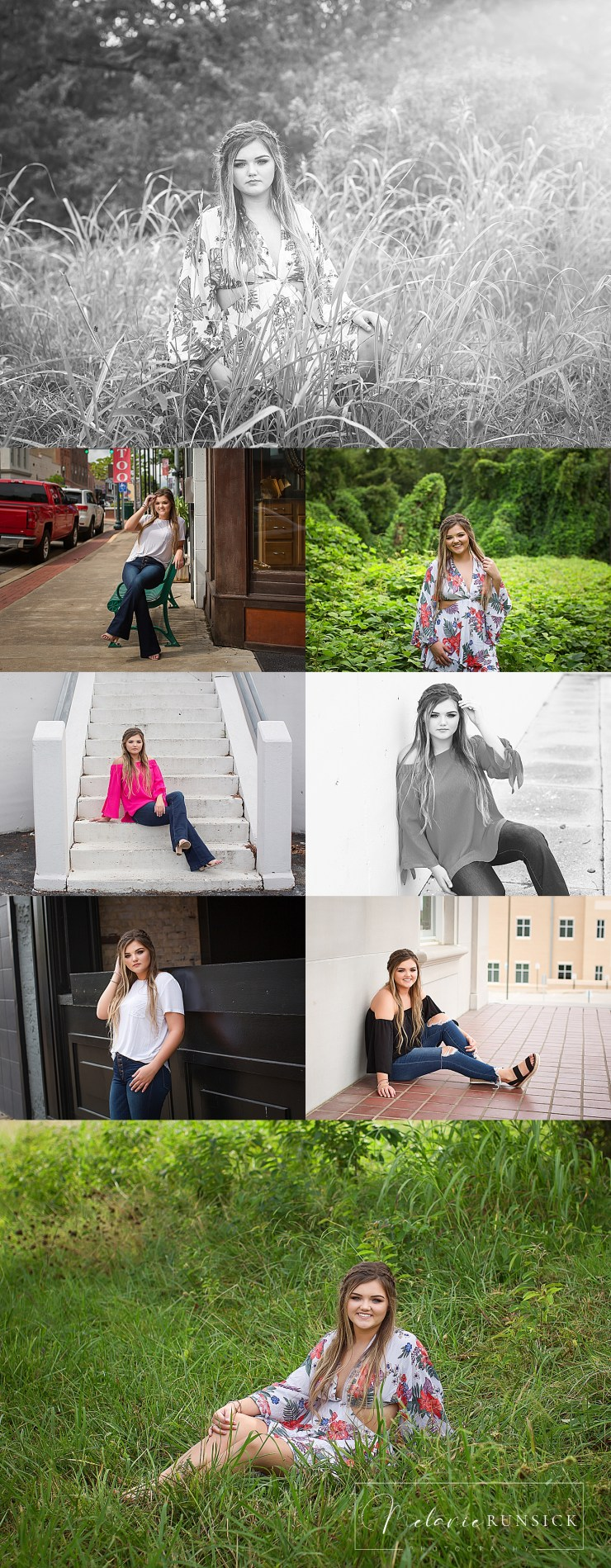 Tuckerman Senior Photographer Melanie Runsick Photography Northeast Ar senior Photographer