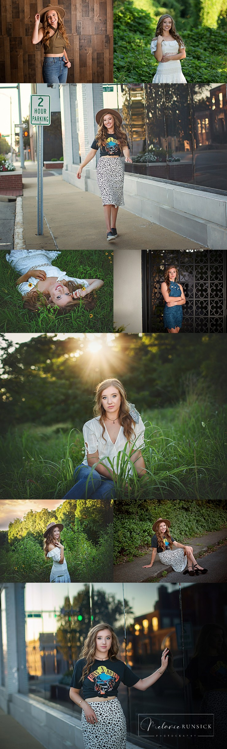 Melanie Runsick Photography Jonesboro Arkansas Senior Photographer Valley View High School