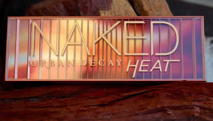 Urban Decay Naked Heat - Cover