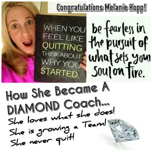 How Melanie Hopp Became a Diamond Coach