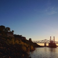 Steamboat on the River, Natchez Mississippi, 2014