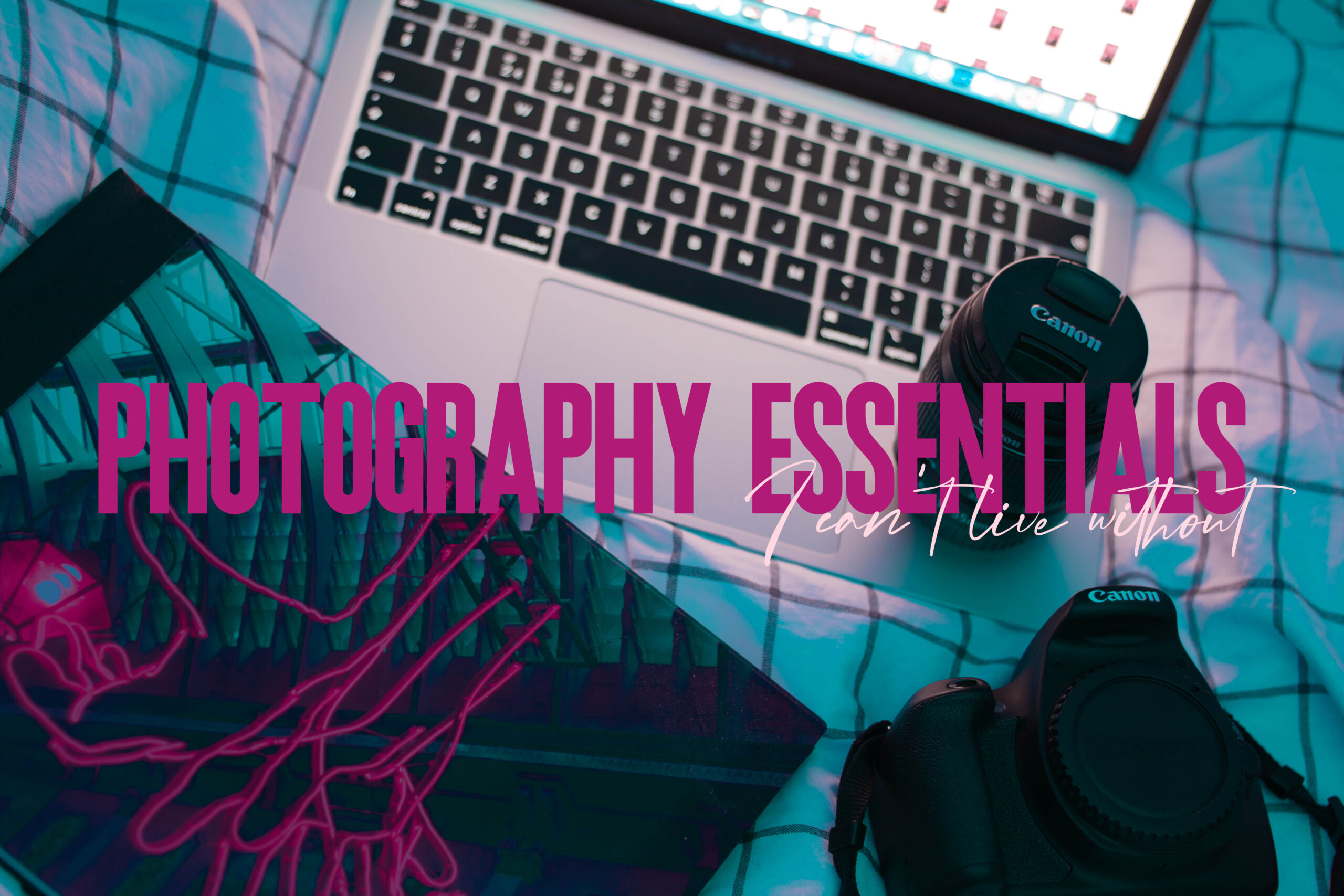 Featured image for photography essentials I can't live without