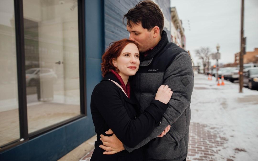 Royal Oak Engagement: Anna + Jake