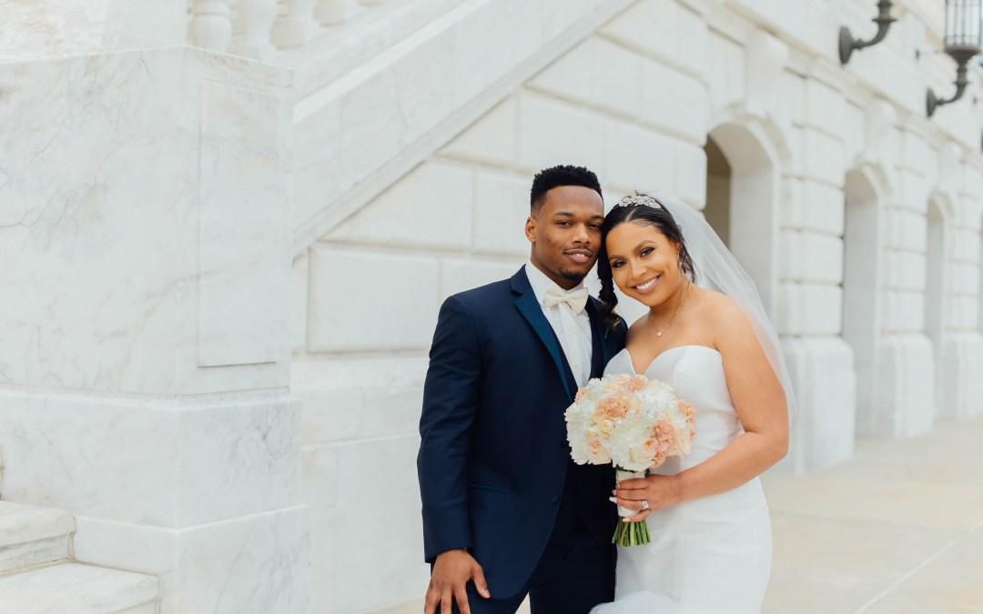 Detroit Michigan Wedding: Derrick + Markisha