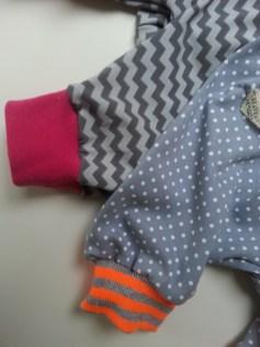 Mel.Anni's handmade Pumphosen Detailansicht