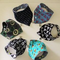 Mel.Anni's handmade Wendehalstücher
