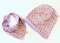 Mel.Anni's handmade Wendebeanie und Halstuch