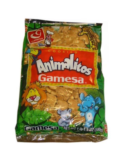 GAMESA GALLETAS ANIMALITOS