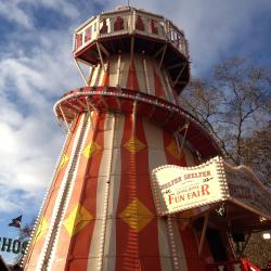 ..just would'nt be complete without a whirl on the helter skelter