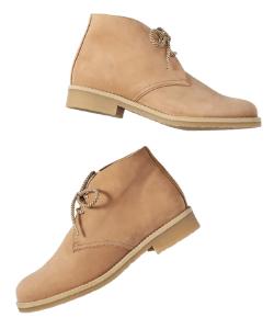 Anthropologie western desert boot tan