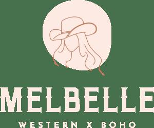 Melbelle boho x western logo