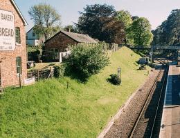 Groombridge steam train staion, Kent, Tunbridge Wells