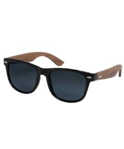 Black ebony wood smoke sunglasses 250x300