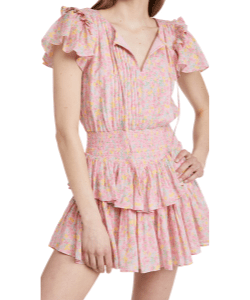 LoveShackFancy Audette Dress