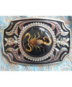 Scorpion Western Belt Buckle