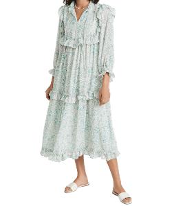 Stella Nova Barbara Dress pastel smocked dress Shopbop