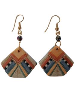 Boho Earrings, handmade Earrings, Hippie Earrings, Ethnic Earrings, Colourful Earrings, Statement earrings