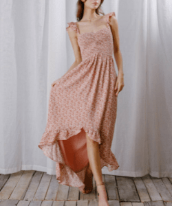 Eden Smocked Maxi Dress