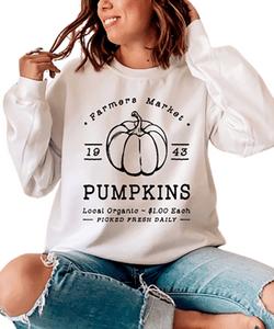 Retro Fall Inspired Sweatshirt, Unisex Pullover, Pumpkin Spice Sweatshirt, Cute Fall Sweater, Womens Fall Fashion Sweater, Coffee Sweatshirt