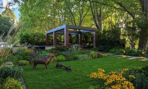 landscape design show gardens