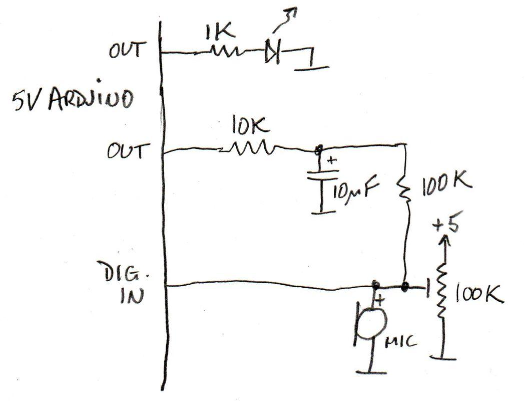 Clap Switch Schematic Diagram