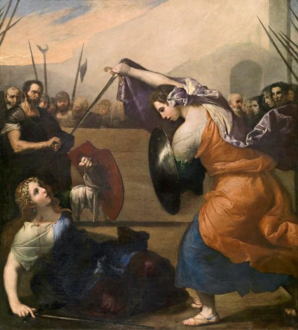 Women Gladiators Paintings