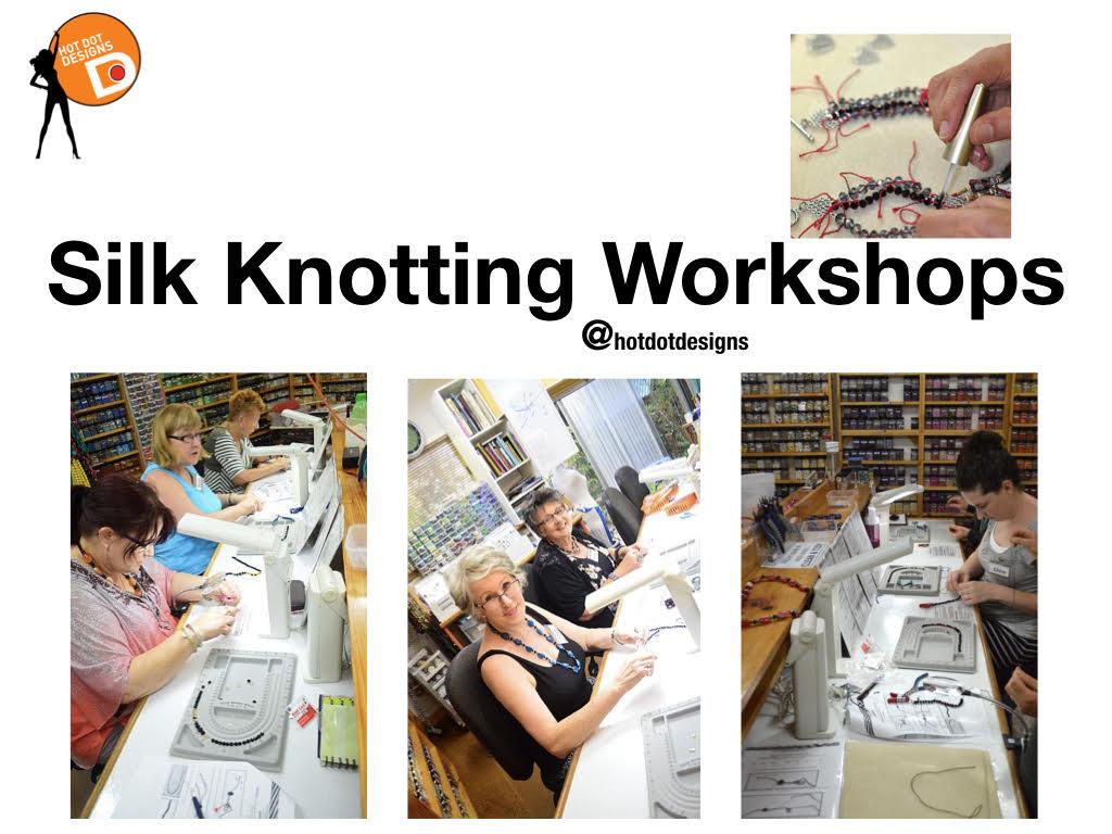 Hot Dot Knotting Workshops