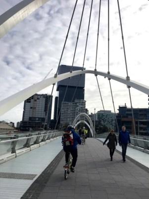 Crossing Seafarers Bridge