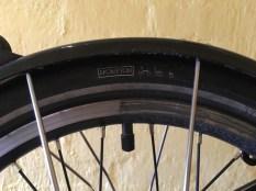 Half clean rear rim
