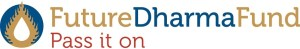 Logo Future Dharma Fund, Pass it on