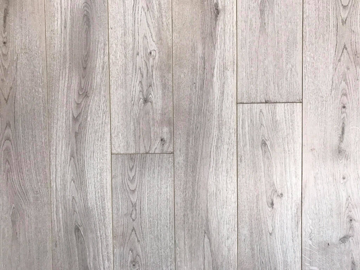 French Grey Oak 12mm  Wide  Long Boards  Laminate