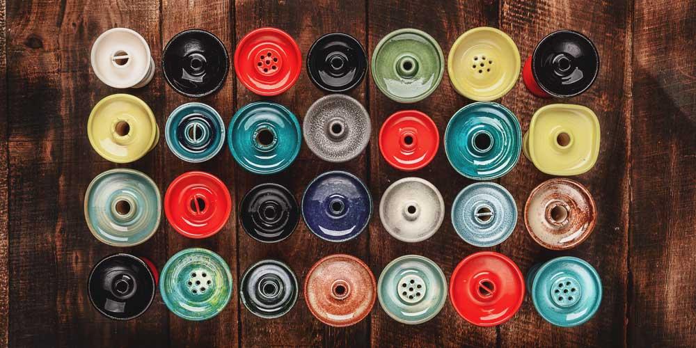 Types of Hookah Shisha bowls