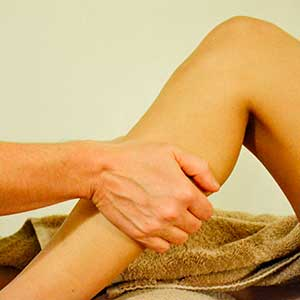 remedial massage for leg pain