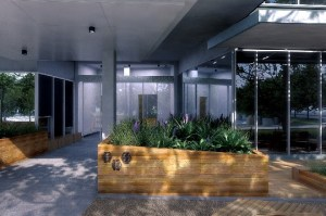 Image Gallery - Melbourne Office Space - Courtyard