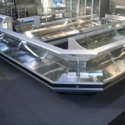 Nuline Curved Glass Modular Deli Display