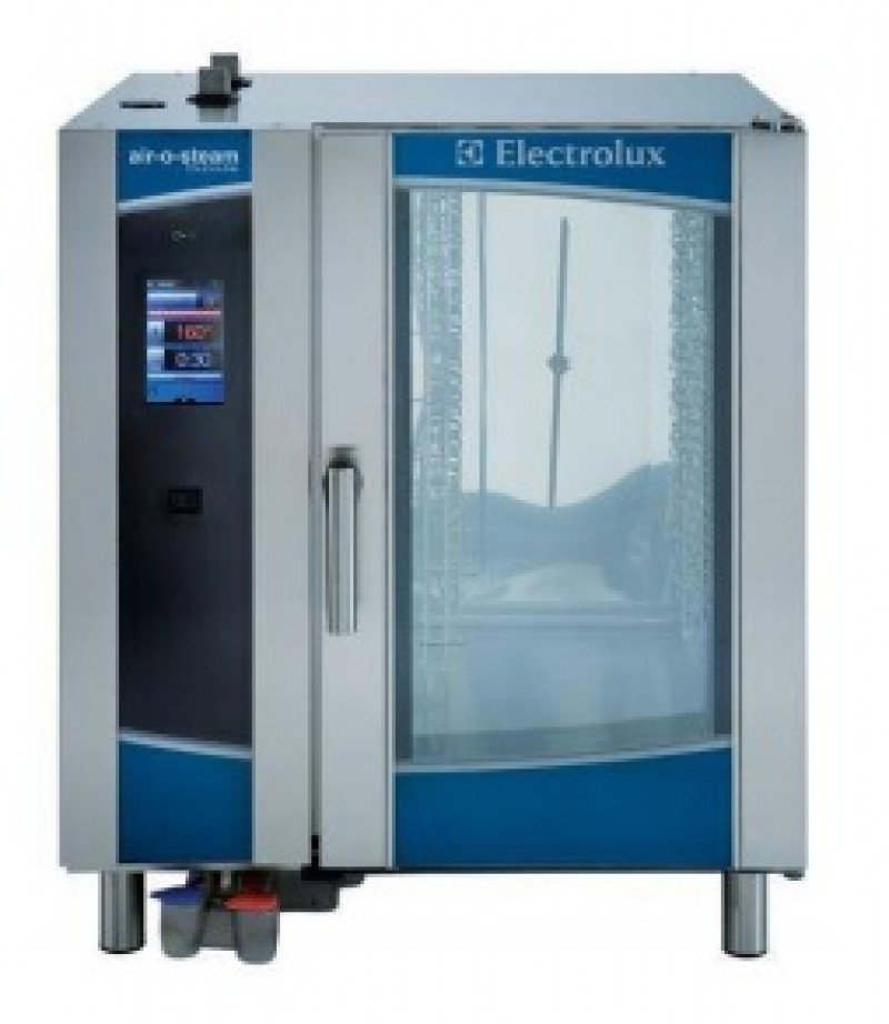 electrolux glasswasher. electrolux 10 tray air-o-steam touchline combi oven glasswasher