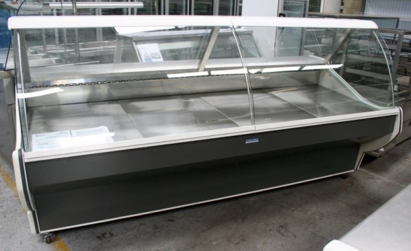 Eurocryor Curved Glass Deli Display