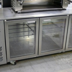 Williams 3 Glass Door Underbar Fridge