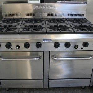 Goldstein Eight Burner Oven Range