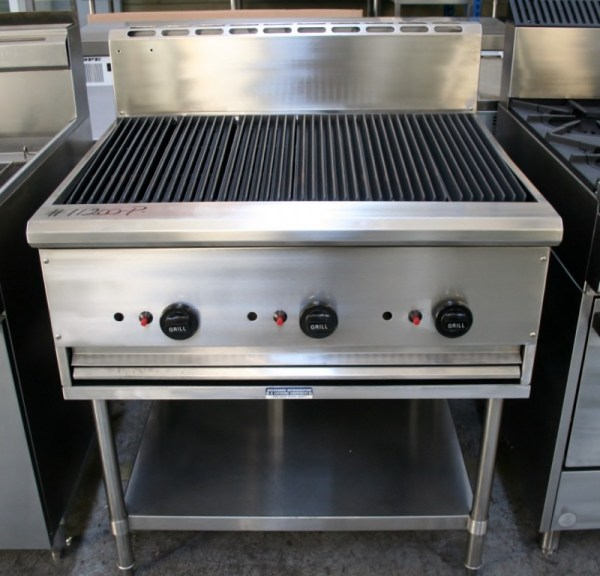 True Heat 900mm Chargrill on Stand