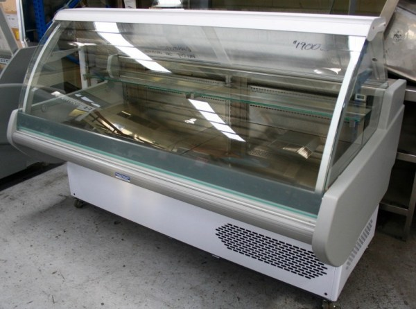 Pastafrigor Curved Glass Deli Display Fridge