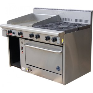 Goldstein 4 gas burner with Griddle