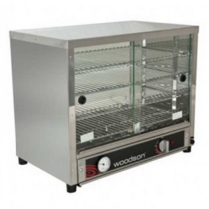 Woodson Pie Display - 50 Capacity