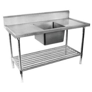 Stainless steel Single Bowl Sink Bench