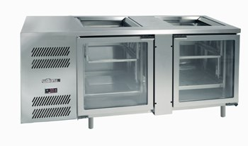 Williams Glass Chiller Self Contained
