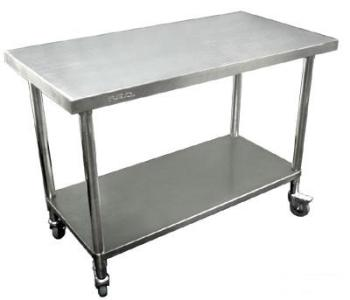 Stainless steel Mobile Work Bench