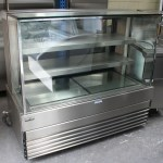 Koldtech KT.SQRCD.15 1500 Square Glass Cake Display Fridge