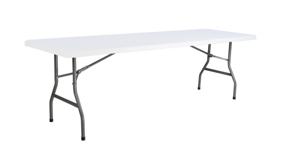 2.4m x 75cm Trestle Table