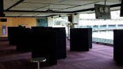 Display boards set up at MCG